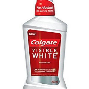 Colgate Mouthwash Plax Visible White Alcohol Free 250 Ml
