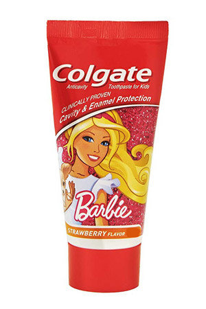 Colgate Toothpaste Barbie Strawberry Kids 40 Grams