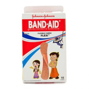 Johnson And Amp Johnson Band Aid Flexible Fabric 10 Pcs