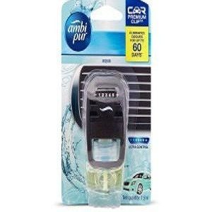 Ambi pur Car Air Freshener Starter Kit Plus 2 Aqua Refill 14 Ml