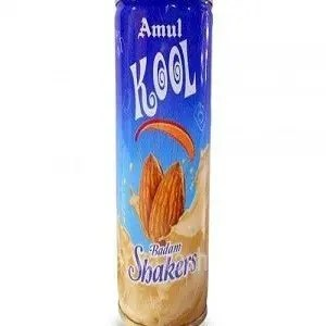 Amul Kool Milk Shaake Badam 200 Ml Can