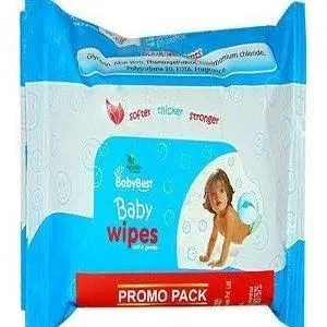 Apollo Pharmacy Baby Best – Baby Wipes, BBB0013, 60 pcs