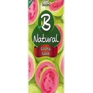 B Natural Juice Guava Gush, 1 Litre Carton