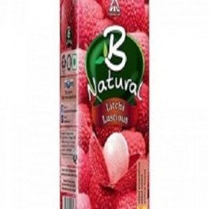 B Natural Juice Litchi Luscious 1 Litre Carton