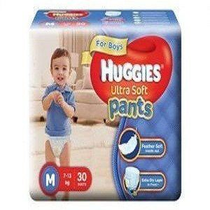 Huggies Wonder Pants Diapers – Medium (7 – 12 kgs), 9 pcs Pouch