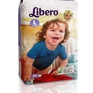 Libero Open Diapers – L, 18 pc Pouch