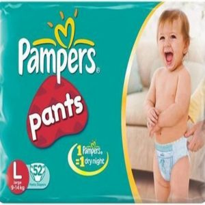 Pampers Pants Diapers – Large Size, 20 pcs Pouch
