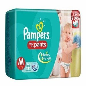 Pampers Pants Diapers – Medium Size, 9 pcs Pouch