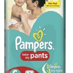 Pampers Pants Diapers Small Size 42 pcs Pouch