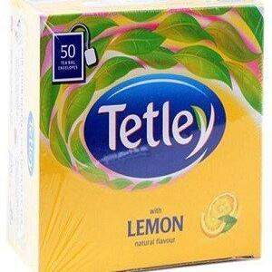 Tetley Tea Bags Lemon 50 Pcs Carton