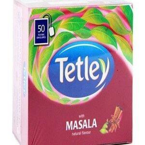 Tetley Tea Bags Masala 50 Pcs Carton