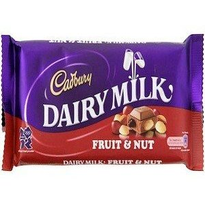 Cadbury Dairy Milk – Fruit & Nut, Imported, 200 gm