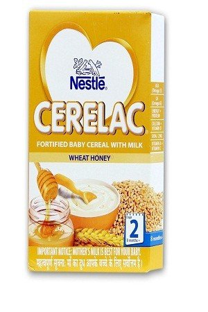 Nestle Cerelac - Wheat Honey (Stage 2), 300 gm Carton