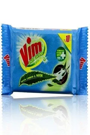 Vim Antigerm Dishwash Bar – Lemon & Neem, 125 gm