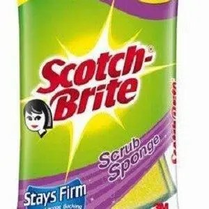 Scotch Brite Scrub Sponge Better Grip 3M