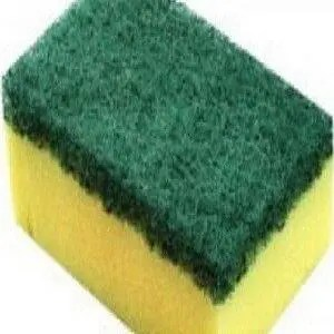 Twinlkle Scrub Sponge 2 In 1 Handy