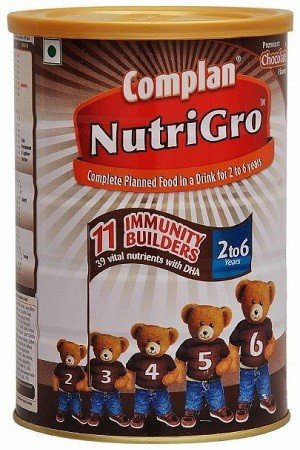 Complan Nutrigro Chocolate 400 Grams Tin