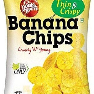 Double horse Chips – Banana, 60 Gm