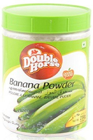 Double horse Powder – Banana, 250 gm Bottle