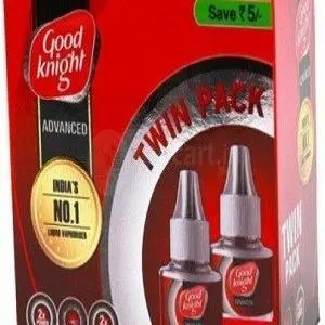 Good knight Advanced Active + Cartridge Twin Saver Pack 45 ml ( Pack of 2 )