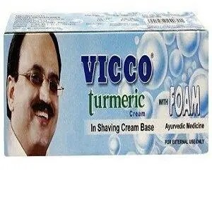 Vicco Turmeric In Shaving Cream Base 30 Grams