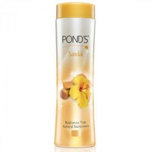 Ponds Talc Natural Sandal Radiance 50 Grams Bottle