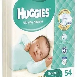 Huggies Diaper – New Born, Up to 5 Kg