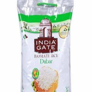 India Gate Basmati Rice – Dubar, 5 kg Pouch