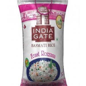India Gate Basmati Rice – Feast Rozzana, 5 kg Pouch