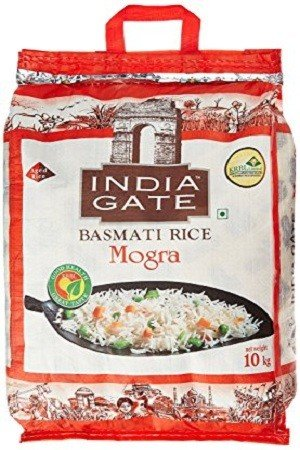 India Gate Basmati Rice – Mogra, 5 kg Bag