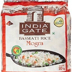 India Gate Basmati Rice – Mogra, 10 kg Bag