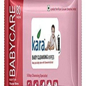 Kara Cleansing Baby Wipes, 20 pcs