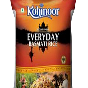 Kohinoor Basmati Rice – Every day, 5 kg Pouch