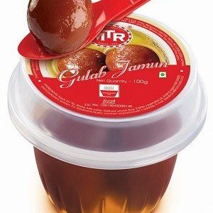 MTR Gulab Jamun Portion Pack 120g