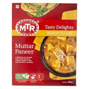 MTR Ready to Eat, Muttar Paneer, 300g Carton
