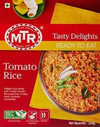 MTR Ready to Eat Tomato Rice, 250g