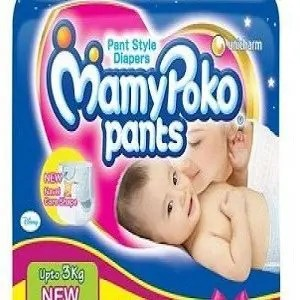 Mamypoko Pants – For New Born, Upto 3 kg, 10 pcs