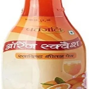 Patanjali Orange Squash 750 Ml Bottle