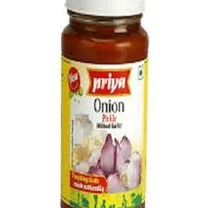 Priya Pickle – Onion, 300 gm Bottle