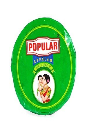 Popular Appalam 175 Grams Pouch