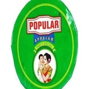 Popular Appalam Super Special 270 Grams Carton