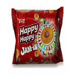 Parle Happy Happy Jam in Cream, 77 gm Pouch
