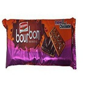 Britannia Bourbon New And Chocolatier 120 Grams