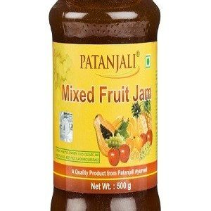 Patanjali Jam – Mixed Fruit, 500 gm Bottle