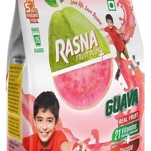 Rasna Fruit Plus Guava 500 Grams Pouch