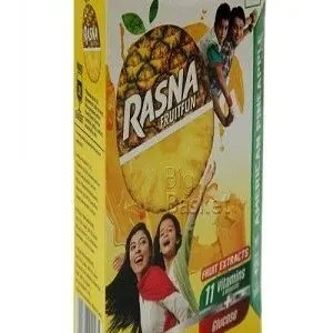 Rasna Fruit Plus – Pineapple, 500 gm Pouch