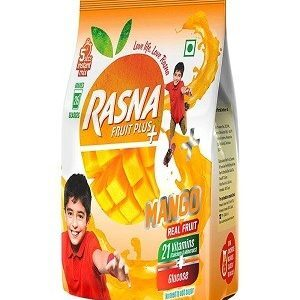 Rasna Fruit Plus Mango 500 Grams Pouch