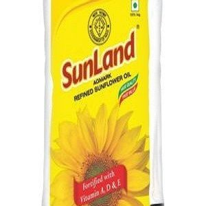 SUNLAND REFINED SUNFLOWER OIL 1LT