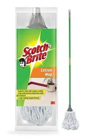 Scotch brite Cotton Handle Mop, 1 pc