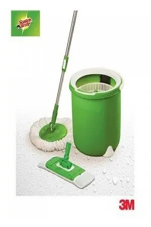 Scotch brite Jumper Spin Mop – Round, Refill, 1 pc
